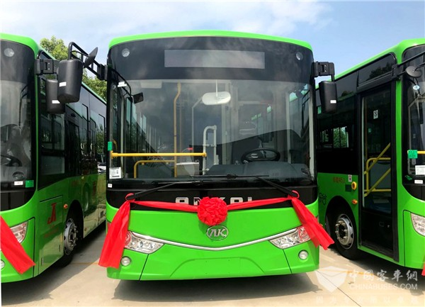 40 Units Ankai G9 Electric City Buses Entered Huguan for Operation