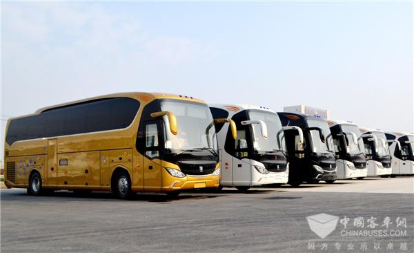 567 Units Asiastar Buses Arrive in Saudi Arabia for Hajj