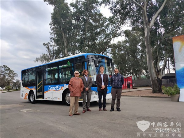 Ankai Electric Buses Arrive in Uruguay for Operation