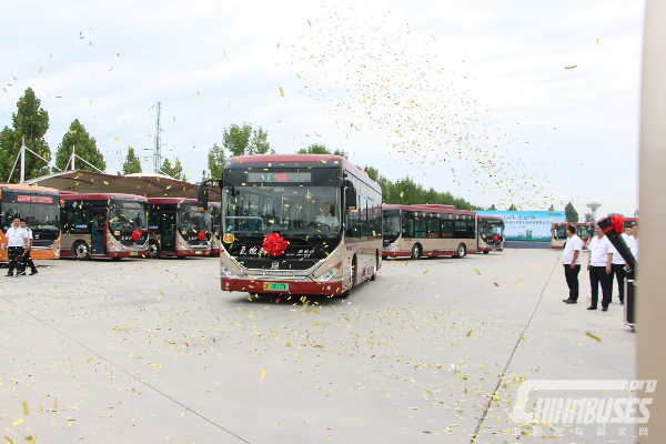 30 Units Zhongtong Fuel Cell Buses Start Operation in Liaocheng