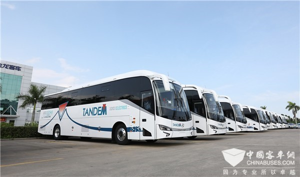 King Long Sold 7,066 Units Buses & Coaches in H1 2019