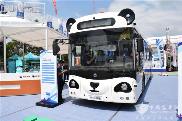 Sunlong Attends Two High-profile Exhibitions in Shanghai and Nanning