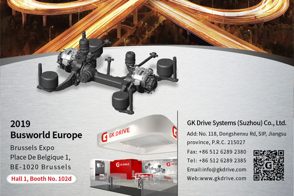 GK Invites You to Meet at Busworld Brussels 2019