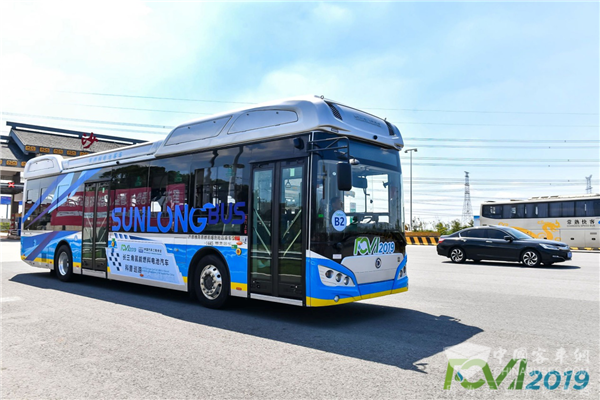 Sunlong Fuel Cell Buses on Promotional Tour in Yangtze River Delta