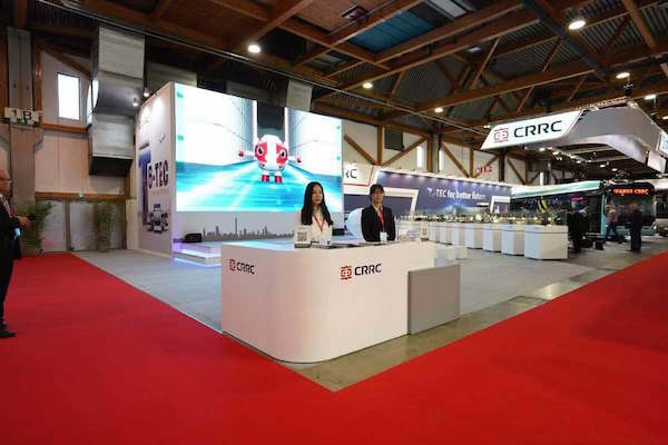 CRRC Electric Attends 2019 Busworld Europe