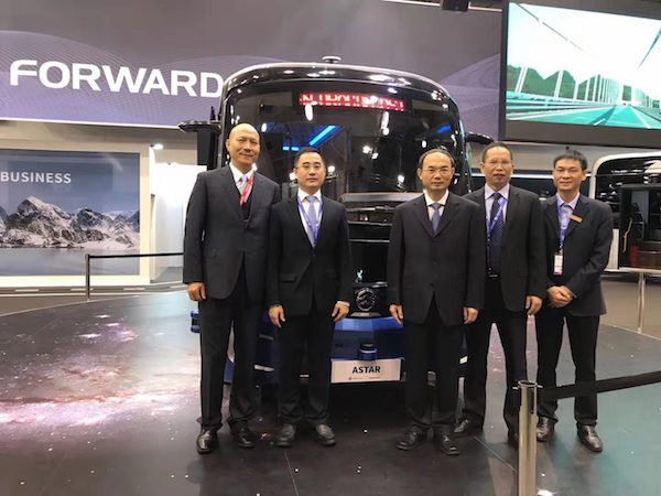 Golden Dragon Brings Four Latest Buses on Display at 2019 Busworld Europe