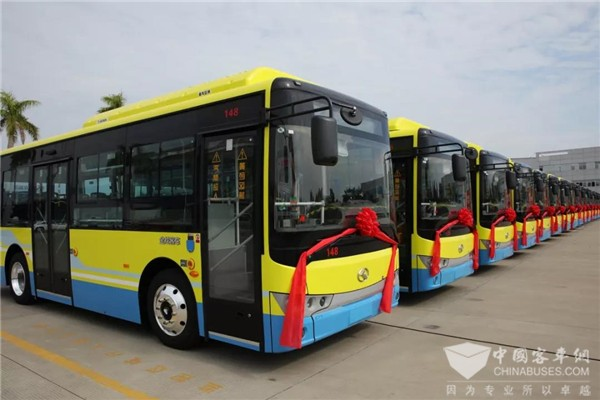 110 Units King Long Electric City Buses to Arrive in Chuxiong for Operation