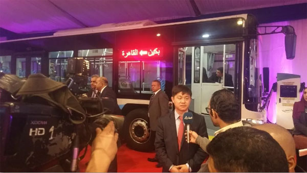 China's Foton Motor aim to localize producing electric buses in Egypt