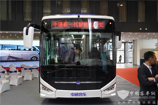 Zhongtong Releases its New N Series Buses in Beijing