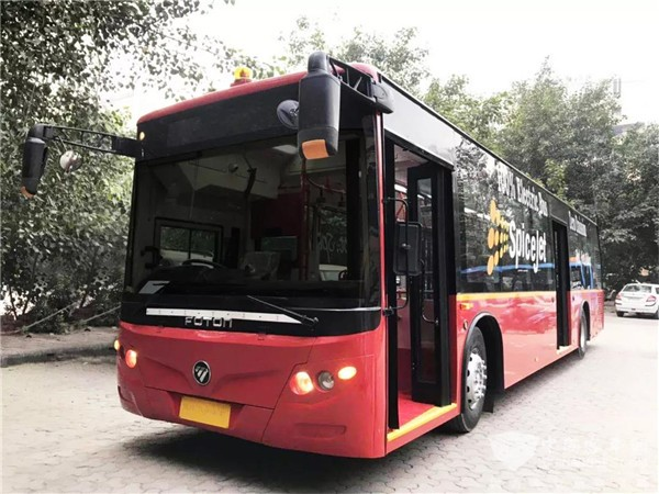 70 Units Foton AUV Electric Buses Arrive in India for Operation