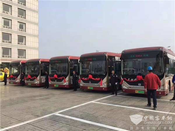Zhongtong Fuel Cell Buses Start Operation in Jining