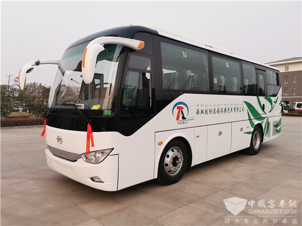 Ankai A5 and A6 Buses Arrive in Xishuangbanna for Operation