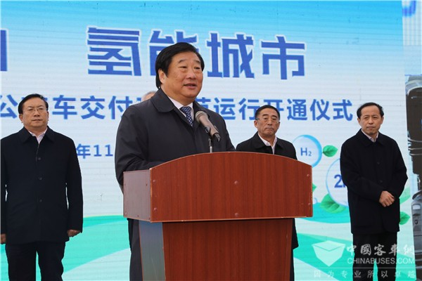 40 Units Zhongtong Buses Equipped with Weichai Hydrogen Power Solutions Start Operation in Jinan