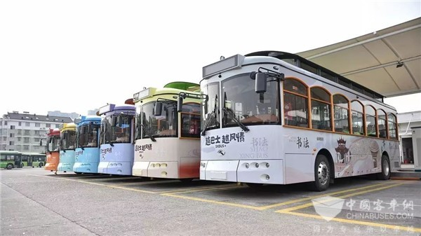 King Long Tour Buses Start Operation in Shaoxing