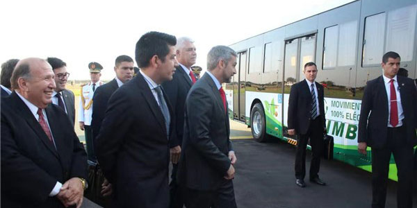 Zhongtong Electric City Buses Start Operation in Paraguay