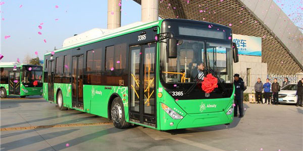 Zhongtong Officially Delivers 200 Units City Buses to Kazakhstan
