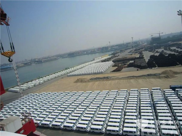 King Long Light Bus Export Volume to Egypt Exceeds 33,000 Units
