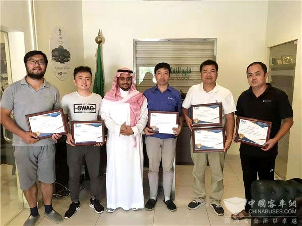 Asiastar Service Team Provides Timely After-sales Services in Saudi Arabia