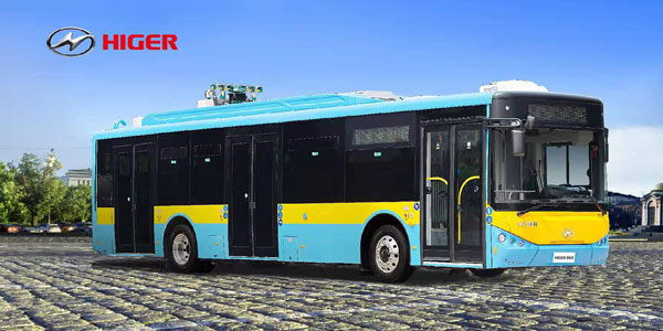 A New Batch of HIGER Super-capacitor City Buses Was Delivered to Bulgaria