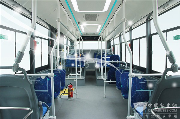 Zhongtong City Buses Improve Air Quality on Board