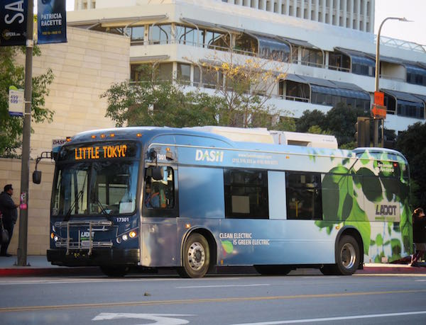 Los Angeles Mayor Eric Garcetti Announces Largest Order of Electric Buses in U.S. History & Praises BYD For Its Role