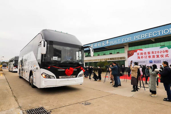 105 Units Bonluck Buses Shipped to the Middle East for Operation