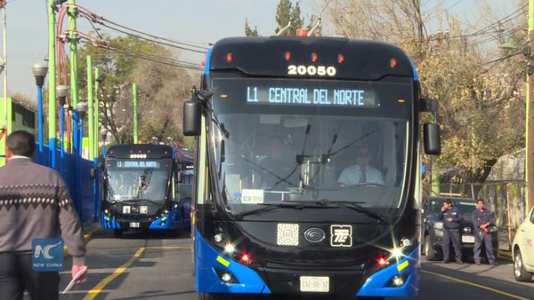 Yutong Got A Tender for 50 Articulated Trolleybuses in Mexico City