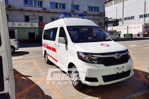 Changan Bus M90 Negative Pressure Ambulance