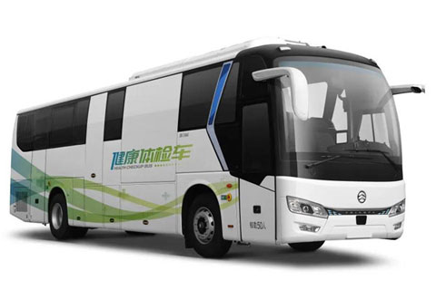 Golden Dragon Bus XML5182XYL15 CT Health-check Bus+YC6L310-50\WP10.336E53 engine