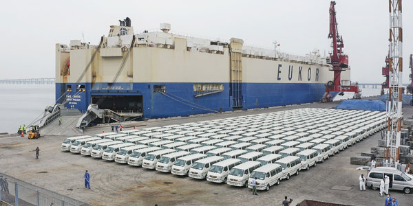 1,000 Units Golden Dragon Light Buses To Arrive in Egypt for Operation