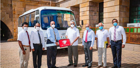 HIGER Serves Sri Lanka's Fight Against COVID-19