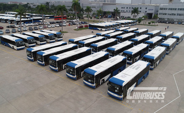 200 Units King Long Buses Embark on Their Journey to Cyprus