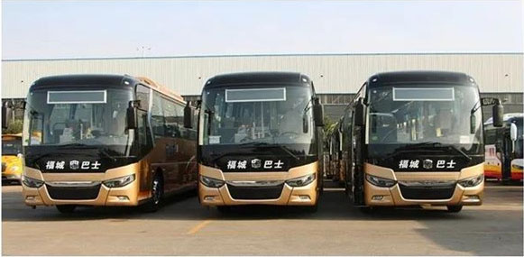 50 Units Zhongtong Electric Luxury Buses Arrive in Binzhou for Operation