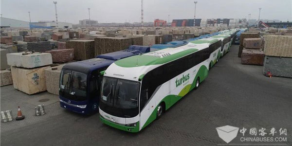 King Long Export Volume Reached 5,407 Units Buses & Coaches in H1 2020