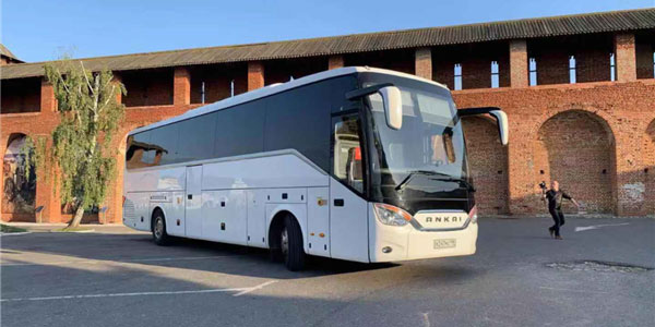 Ankai A9 Luxury Coaches Work Smoothly in Russia
