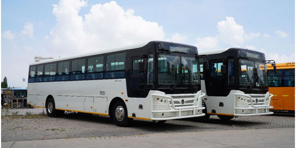 50 Units Golden Dragon City Buses Arrive in Zimbabwe for Operation