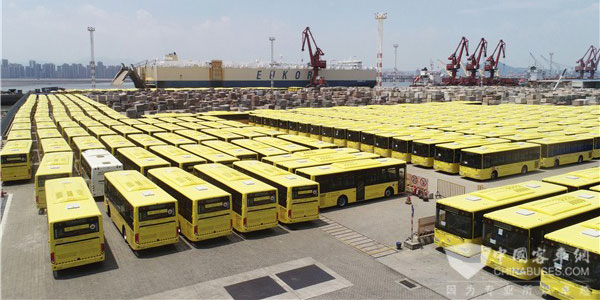 King Long Delivers 449 Units Intelligent School Buses to Saudi Arabia