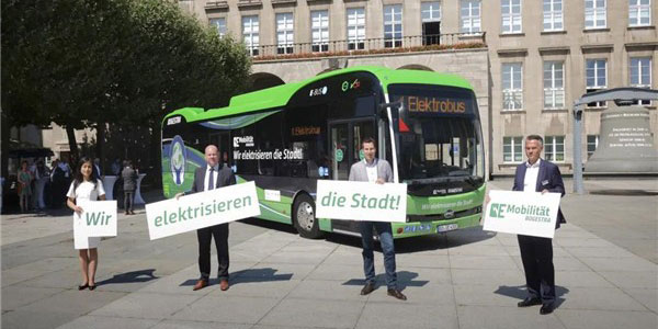 BYD Electric Bus Arrives in Germany for Operation