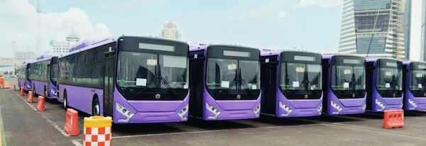 80 Units Zhongtong Buses to Arrive in Mexico for Operation