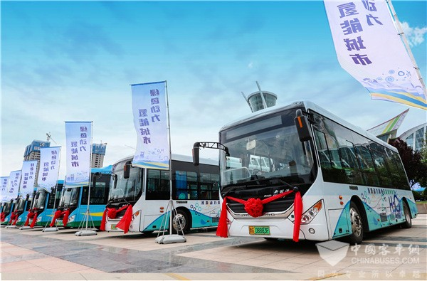 Zhongtong Fuel Cell Buses to Arrive in Foshan in November