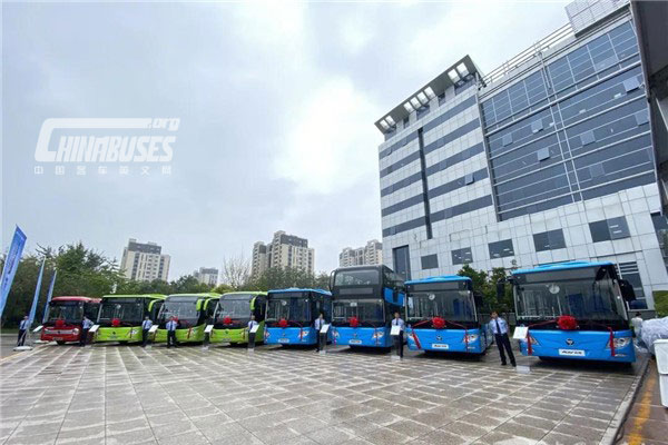 2,120 Units Foton AUV New Energy Buses Delivered to ...
