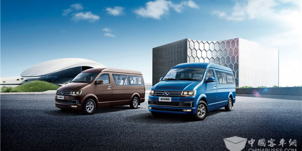 King Long Rolls Out Kingry MPV Van with National VI Emission Standards