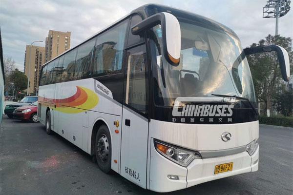 King Long Used Tourist Bus