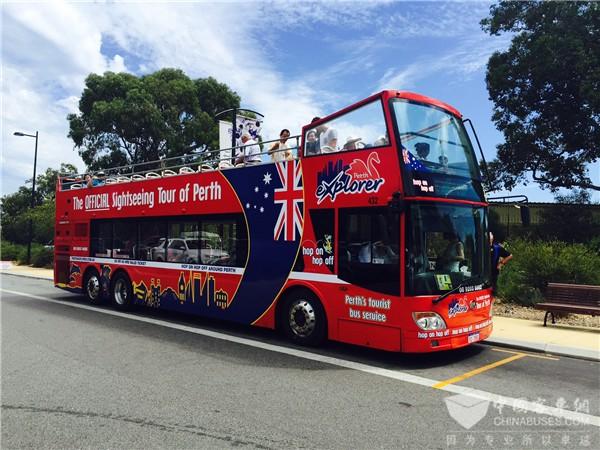 Ankai Double-decker Tourist Buses Arrive in Australia ...