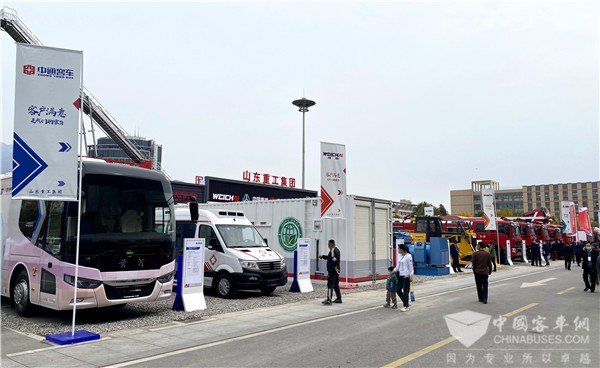 Zhongtong Buses Remodeled for Medical Services Revealed to the Public