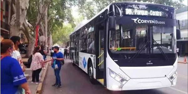 Zhongtong Natural Gas Buses Start Operation in Argentina
