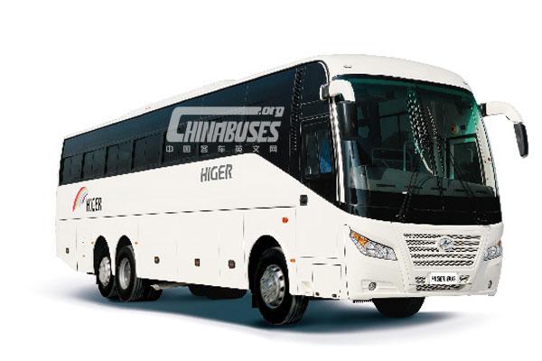 Higer Bus KLQ6138DF+Dongfeng Cummins L360 20
