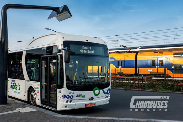 Keolis Deploys 246 BYD All-Electric Buses in the Netherlands