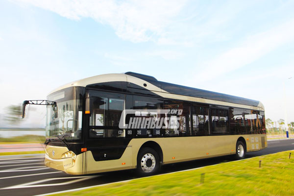 Yinlong Pure Electric City Bus GTQ6122BEVBT21
