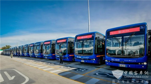 470 Units BYD Electric Buses to Arrive in Bogota for Operation